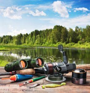 Proposer des articles de pêche et de chasse