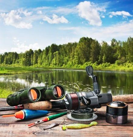 Vente d'articles de pêche