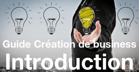 Introduction au Guide sur la création d'un business