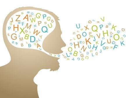 image qui illustre le mecanisme des mots par la pensée . article Comment transformer votre façon de parler ? Et pourquoi ? du site travailler à domicile.fr
