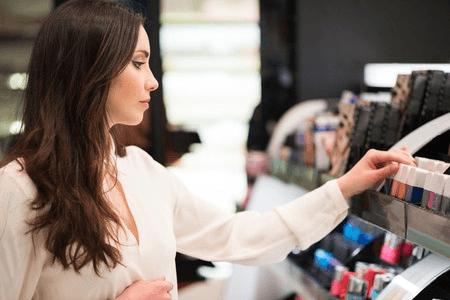 vente de produits cosmétiques
