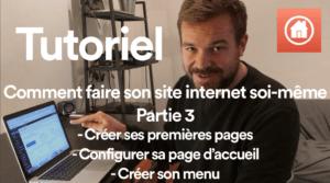Comment faire son site internet soi-même Partie 3