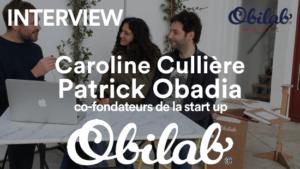 Interview des co-fondateurs d' Obilab qui nous présentent la première batterie au monde... en carton !