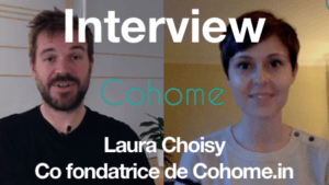 Interview de Laura Choisy qui nous présente le site Cohome.in