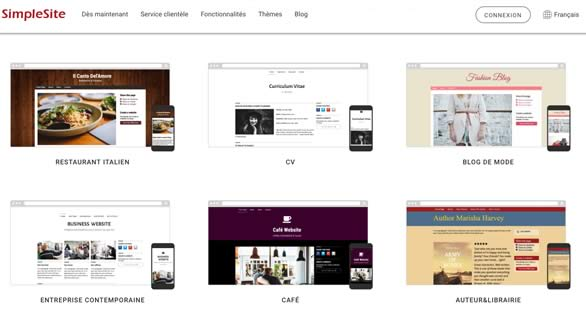 simplesite- themes
