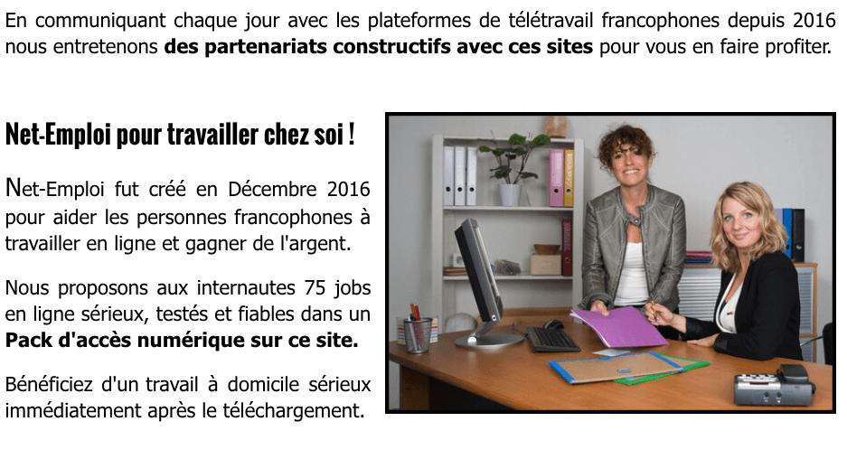 Elisabeth DUBOIS - Co-fondatrice de Net-Emploi.fr