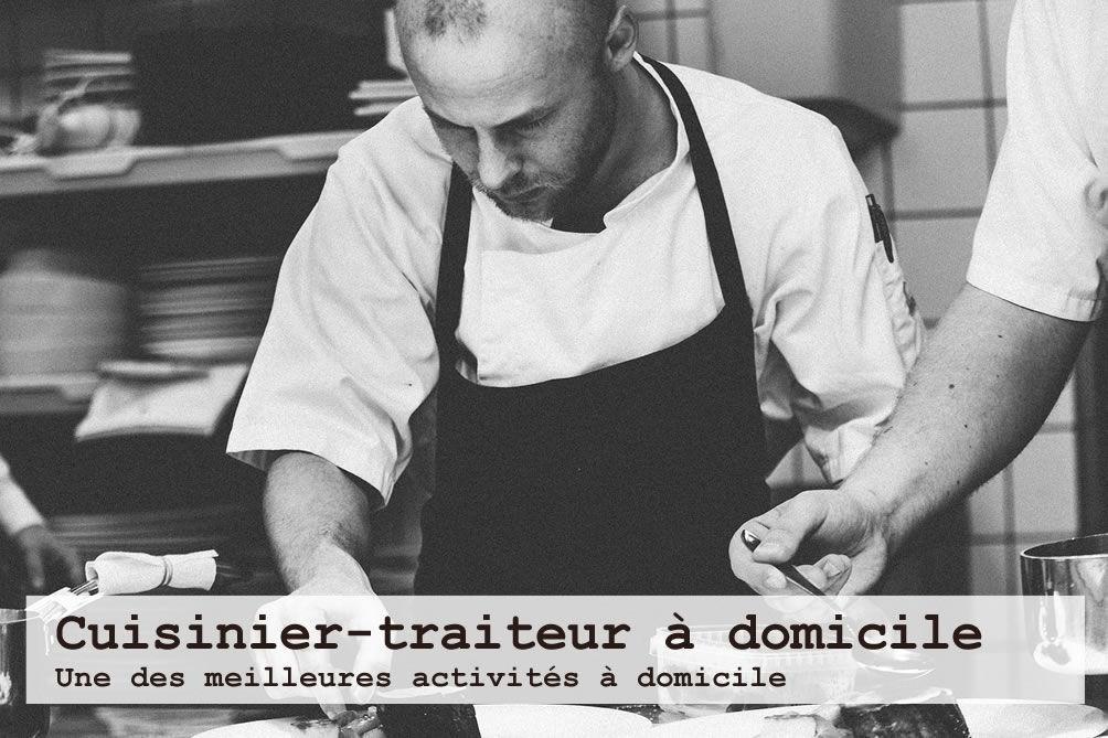 Devenir un chef cuisinier ou traiteur à domicile