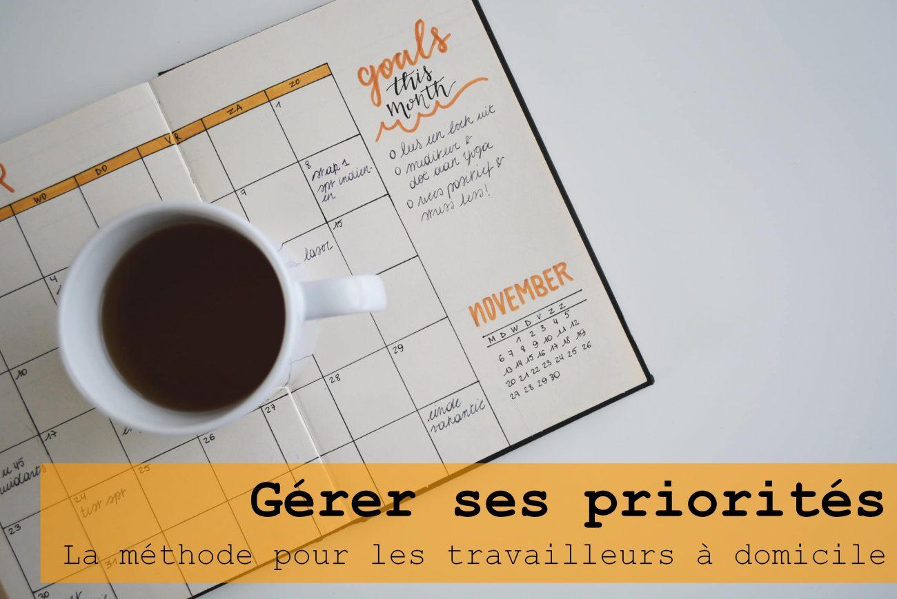 gérer ses priorités checklist café